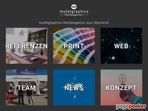 Teufelgraphics Werbeagentur aus Oberkirch Konzepte Marketing Webdesign