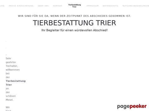 Tierbestattung Trier - Kremierung