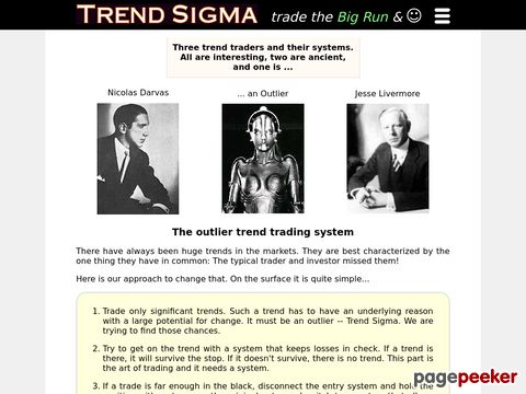 Trend Sigma - Stock Trading System