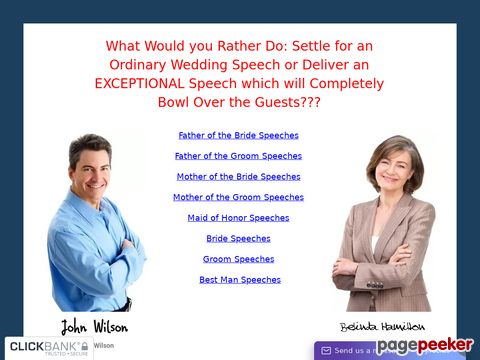 Wedding Speeches for All – Wedding Speeches
