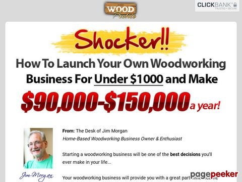 WoodProfits® How To Start A Woodworking Business From Home With No Capital or Experience