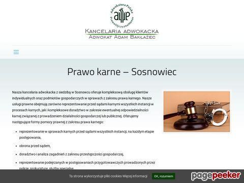 Adwokat Sosnowiec