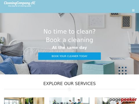 Screeshot of Basmh Cleaning Services in Dubai, UAE