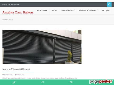 Ana Sayfa - Antalya Cam Balkon