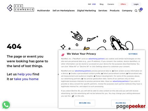 http://cedcommerce.com/magento-2-extensions/braintree-payment-method website snapshot
