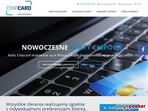 Więcej o stronie : Chipcard - Karty Plastikowe, Akcesoria, Drukarki i Czytniki Kart