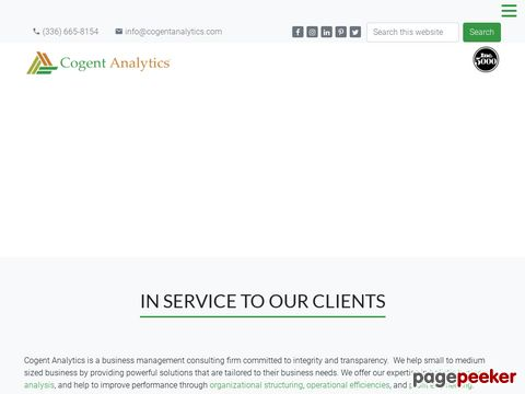 Screeshot of Business Consultants Greensboro