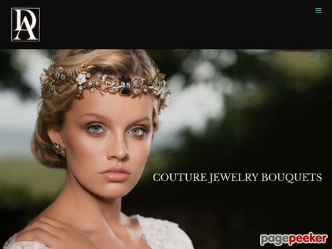 Screeshot of Wedding Jewelry Bouquets