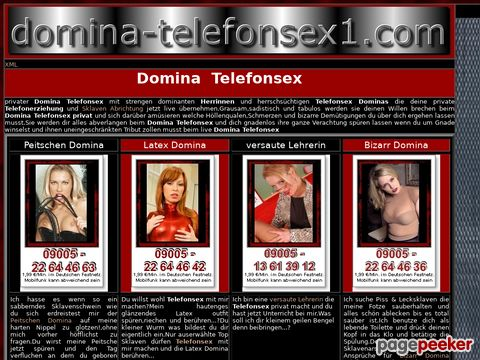 Details : Domina Telefonsex