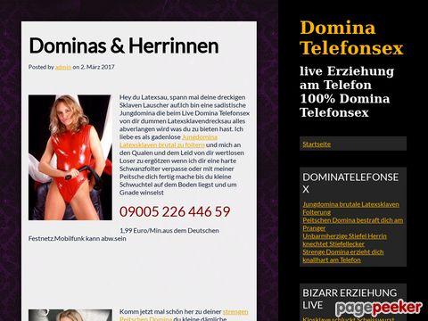 Details : Domina Telefonsex Erziehung