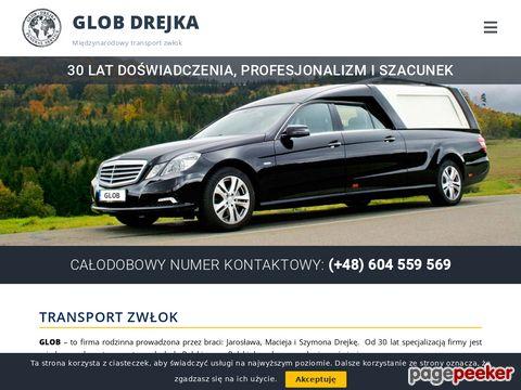 Transport zwłok GLOB - Drejka