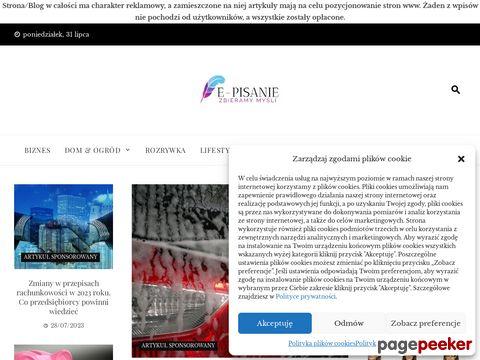 Więcej o stronie : E-pisanie.EDU.pl - pomoc w pisaniu prac