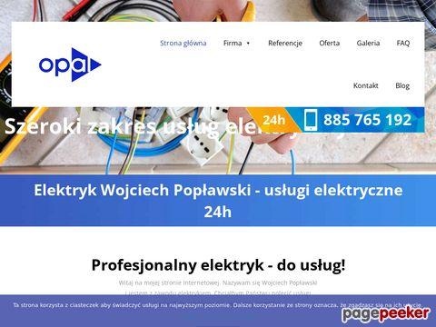 Usługi elektryczne - elektrycy.warszawa.pl
