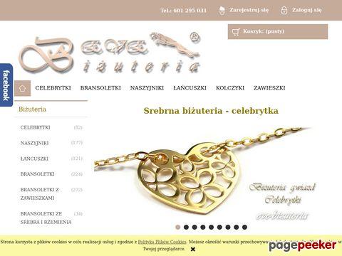 Bizuteria srebrna - sklep producenta biżuterii EVE