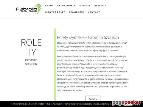 Rolety rzymskie - Fabrollo.pl