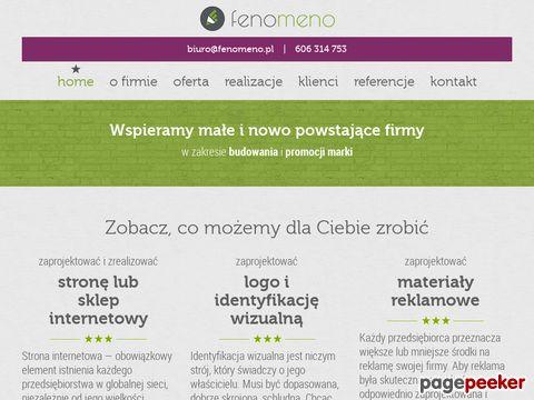 Więcej o stronie : Fenomeno.pl