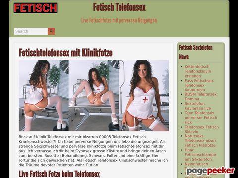 Details : Fetisch Telefonsex | Live Fetischfotze mit perversen Neigungen