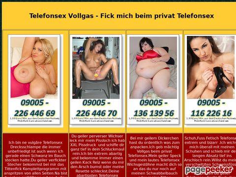 Details : Telefonsex Vollgas - Fick mich beim privat Telefonsex