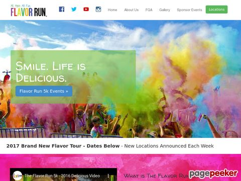 Screeshot of color run paint
