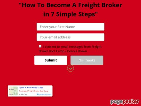 Freight Broker Boot Camp Coupon