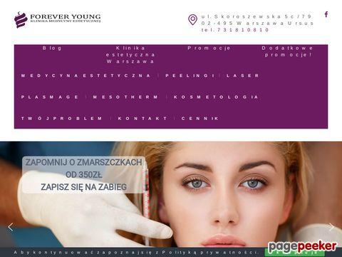 Klinika medycyny estetycznej Forever Young