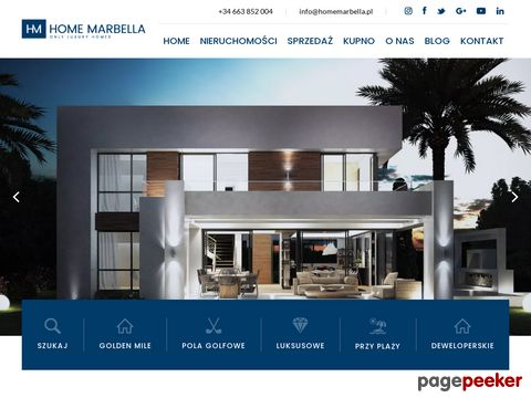 Home Marbella nieruchomości Hiszpania