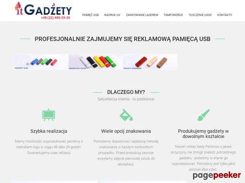 itgadzety.pl pendrive drewniany