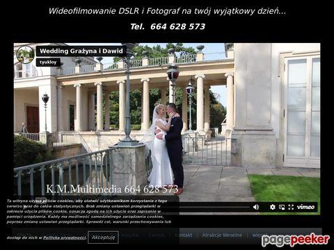 Więcej o stronie : Wideofilmowanie - kamerzysta.ostroleka.pl