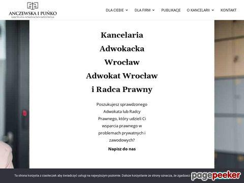 Więcej o stronie : Kancelaria EA Wrocław