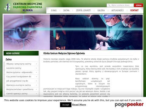 Leczenie zaćmy - Klinika Dąbrówka