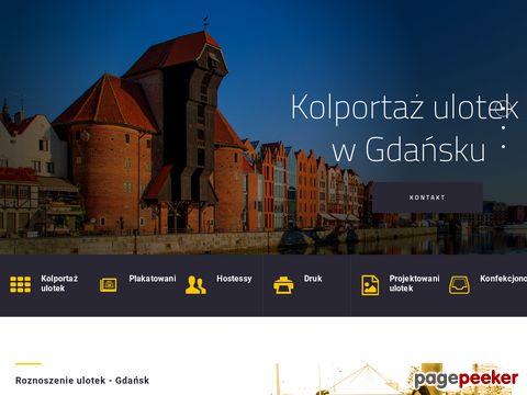 KolportazGdansk.pl - kolportaż ulotek i plakatowanie