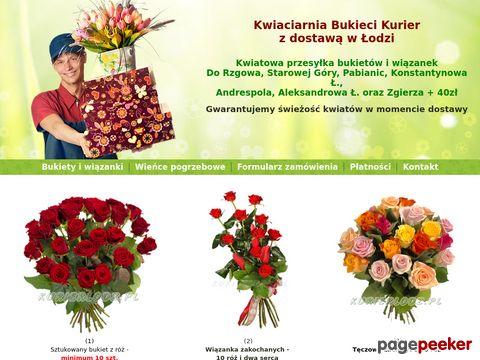 Kwiaty na telefon - Kwiaciarnia Łódź