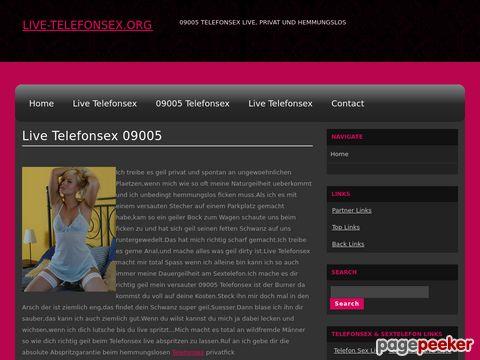 Details : Telefonsex live & privat