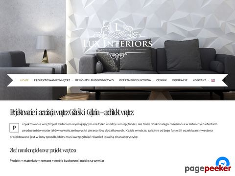 Luxinteriors.com.pl