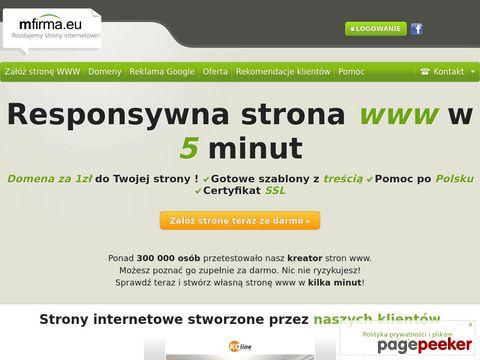 Gotowe strony www