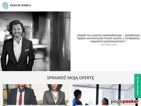 marcinmanka.com - coaching Warszawa