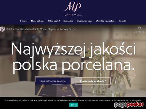 mariapaula.pl - porcelana polska