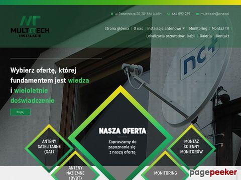 Multitech – Instalacje antenowe