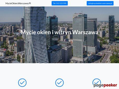 MycieOkien.Warszawa.Pl