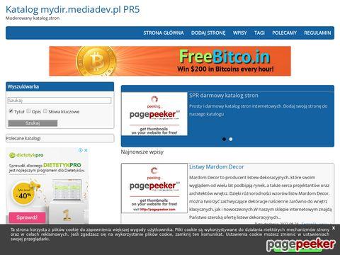 Darmowy katalog stron internetowych - mydir.xtreemhost.com