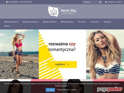 Gorsety protetyczne - NeverShy.pl