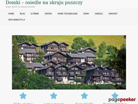Domy energooszczędne w Grabówce