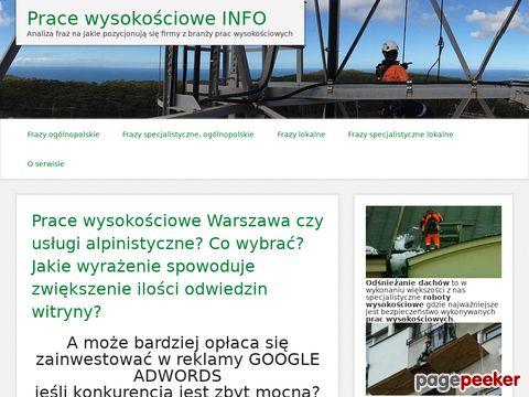 http://pracewysokosciowe.info/