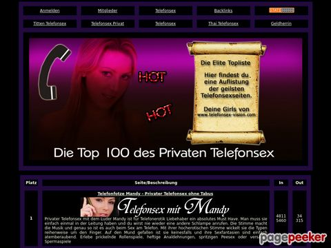 Details : Telefonsex Elite Top100