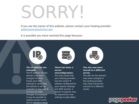 Screeshot of Puluche.com - Rock Music Quizzes and Trivia