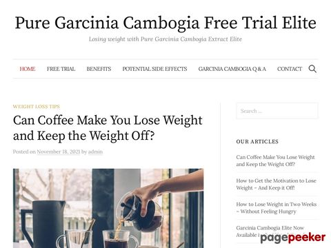 Screeshot of Garcinia Cambogia Extract Now Much Stronger Than In The Past