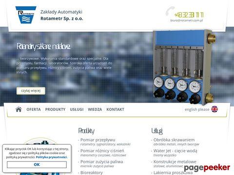 Więcej o stronie : Zakłady Automatyki Rotametr