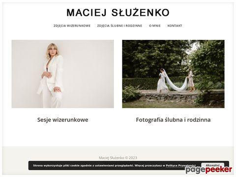 Więcej o stronie : Sluzenko.com - Maciej Służenko fotograf z Wrocławia