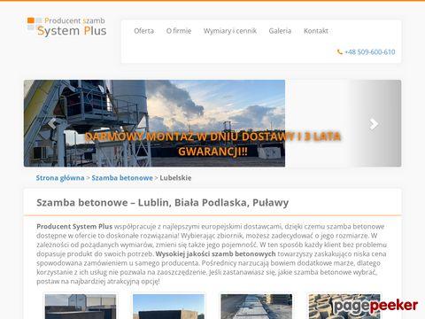 Szamba betonowe Lublin