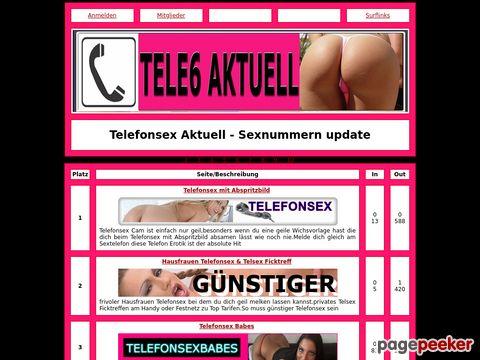 Details : Telefonsex Aktuell